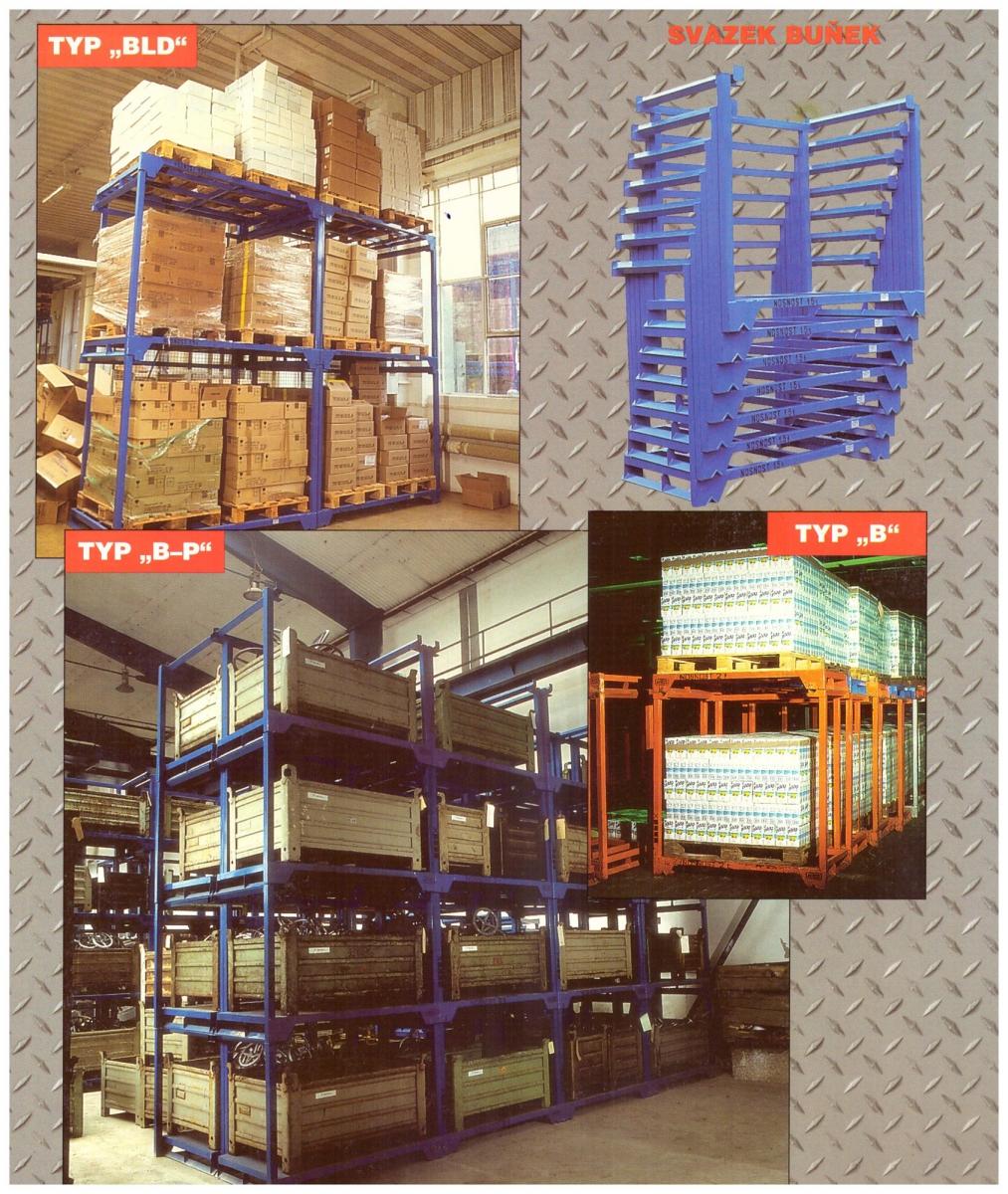 Buňkový skladovací systém AKROS CZ 2