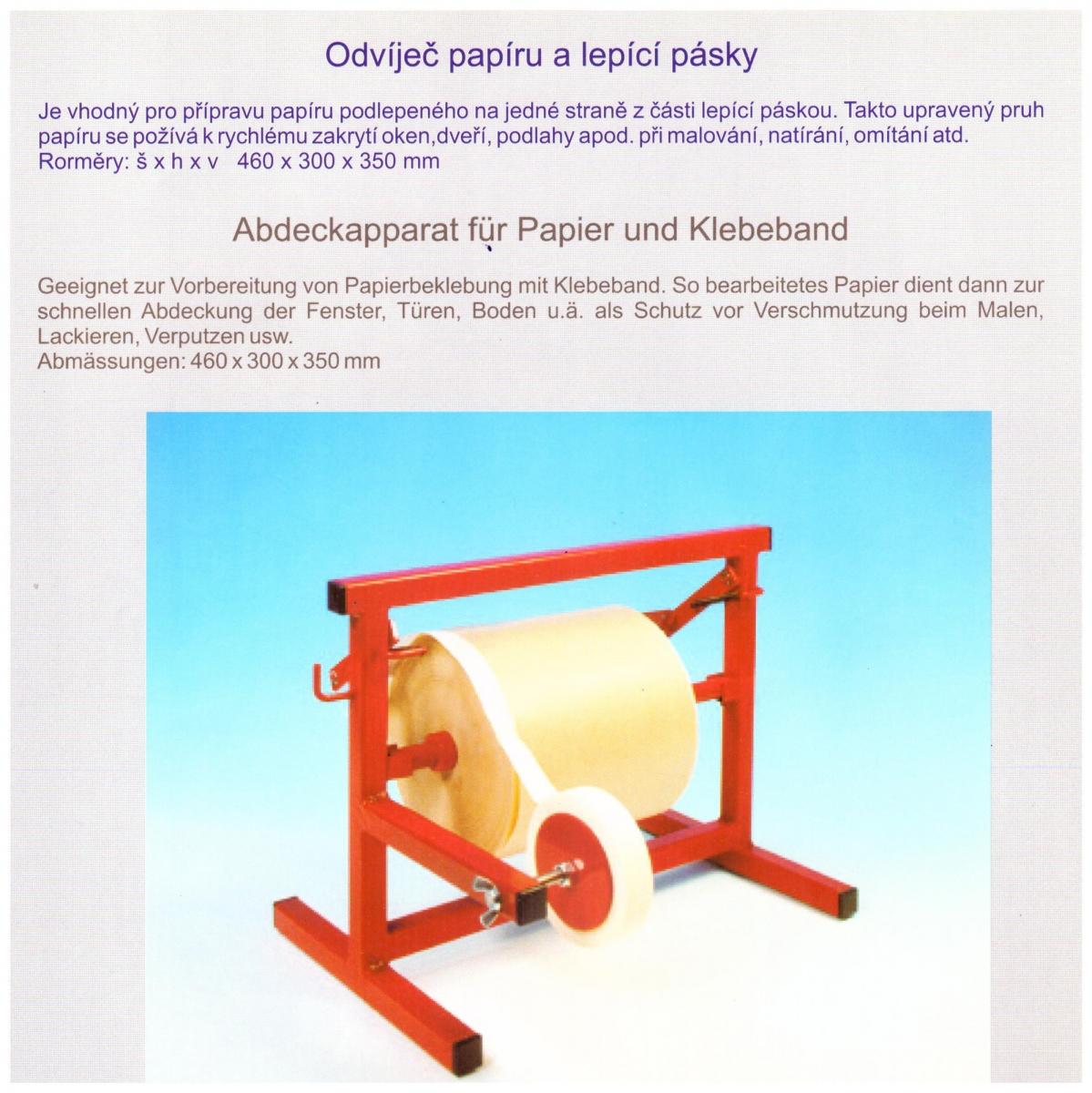 Odvíječ papíru